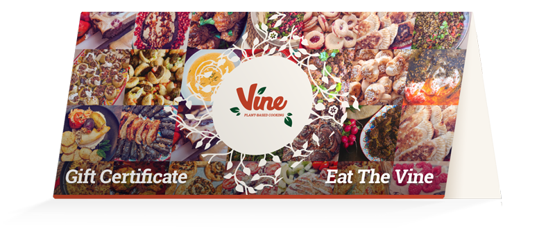 Vine Vegan Catering Gift Certs
